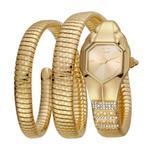 Just Cavalli Glam Snake Quartz Ladies Watch JC1L112M0025