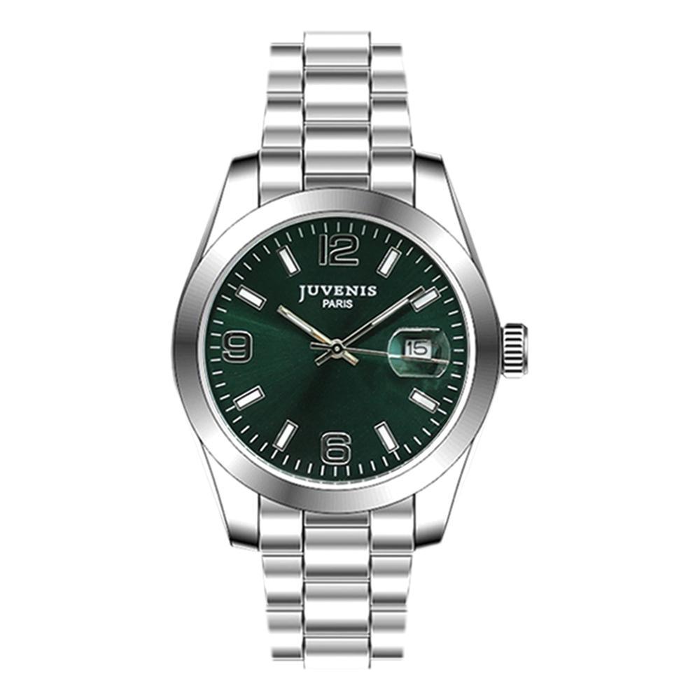 Juvenis Men Analog Watch Dark Green - JV7004H1