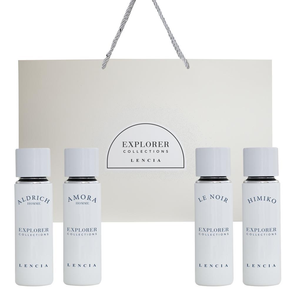 Lencia Explorer Collection 4Pcs Gift Set 30 ml