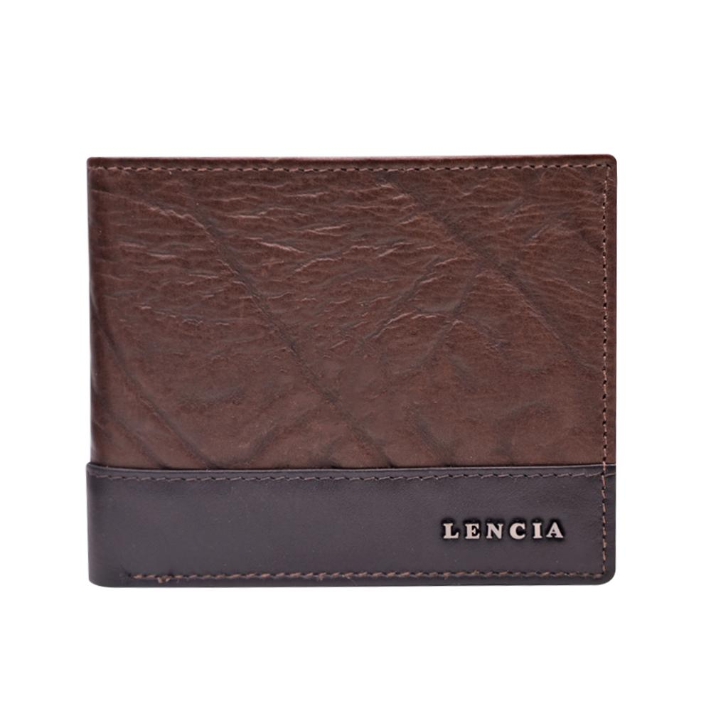 Lencia Leather Wallet For Men LMW-15987-DBR