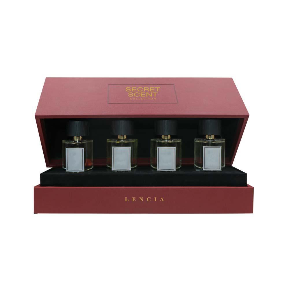 Lencia Secret Scent Collection 4Pcs Gift Set EDP 50ml