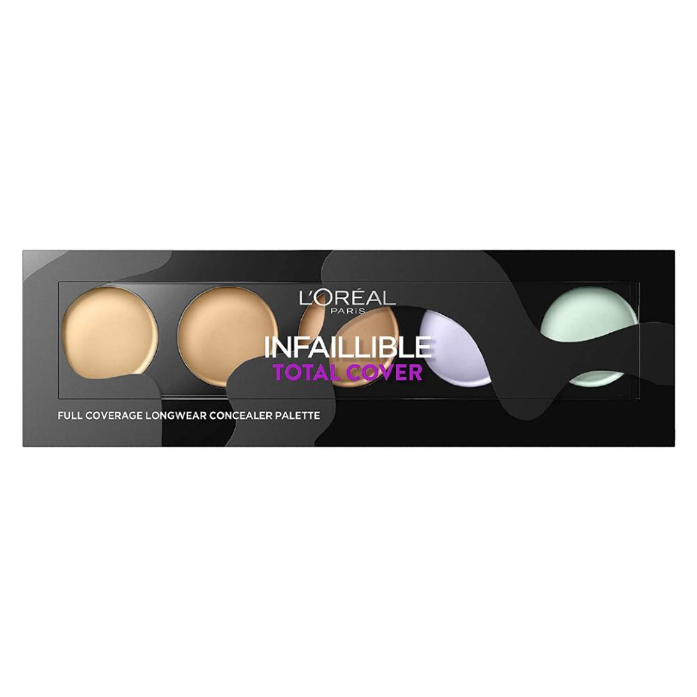 L'Oreal Infalliable Total Cover Concealer Pallete