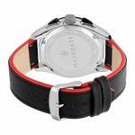 Maserati Traguardo Black Leather Men's Watch R8871612028
