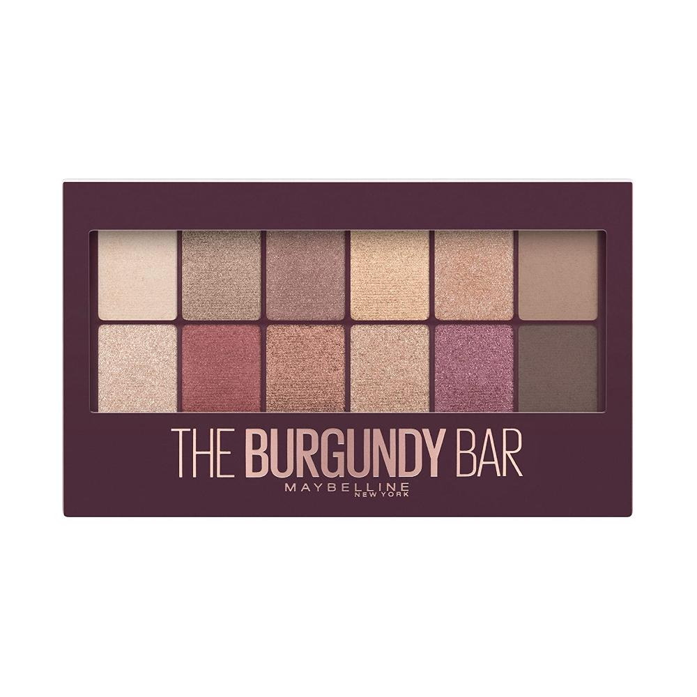 Maybelline Eyeshadow Palette-The Burgundy Bar