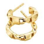 Michael Kors Mercer Link Hoop Earrings MKC1013AA710