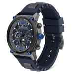 Police Armor Analog Watch for Men with Silicone Band P 14378JSU-13P