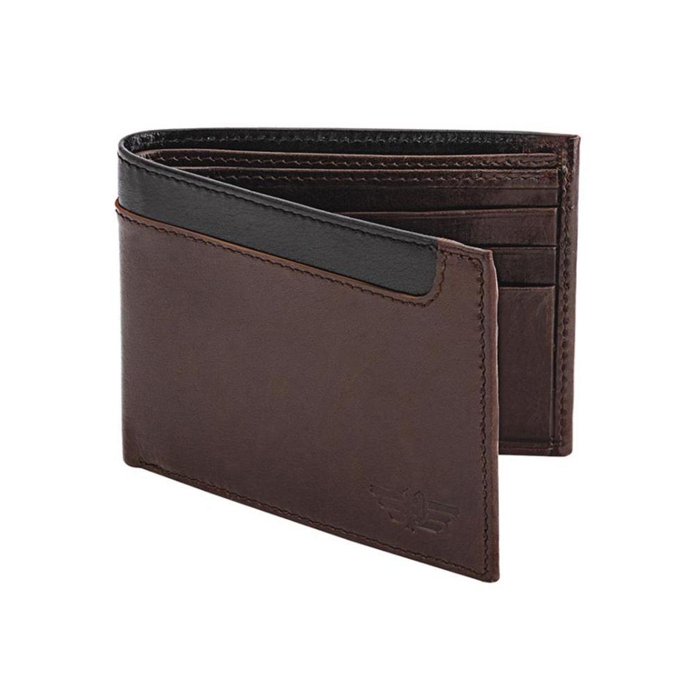 Police Leather Bi-Fold Wallet P Pa40045Wlbr
