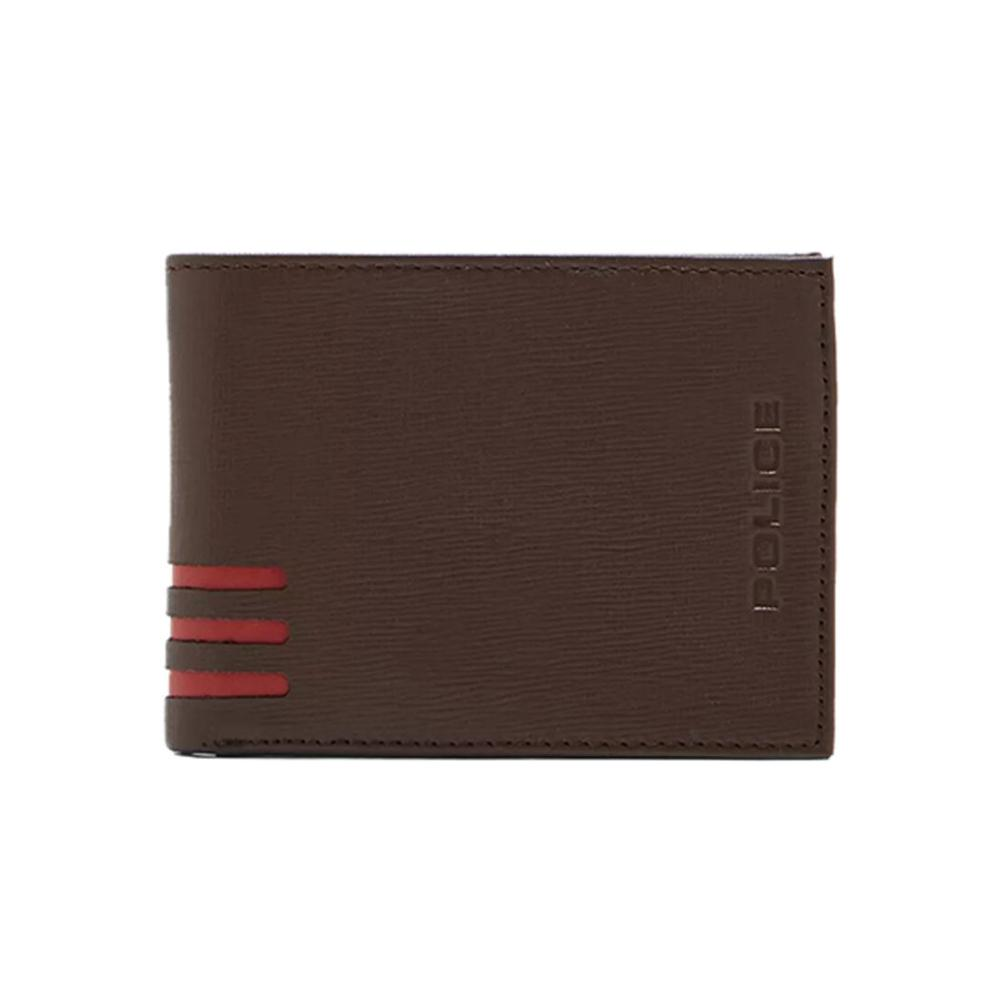 Police Leather Wallet P Pa40048Wlbr