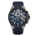 Police Saiho Men Blue Quartz Multifunction Watch P 15711JSUB-03