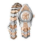 Roberto Cavalli Silver Dial Watch For Women - RV1L116M0061