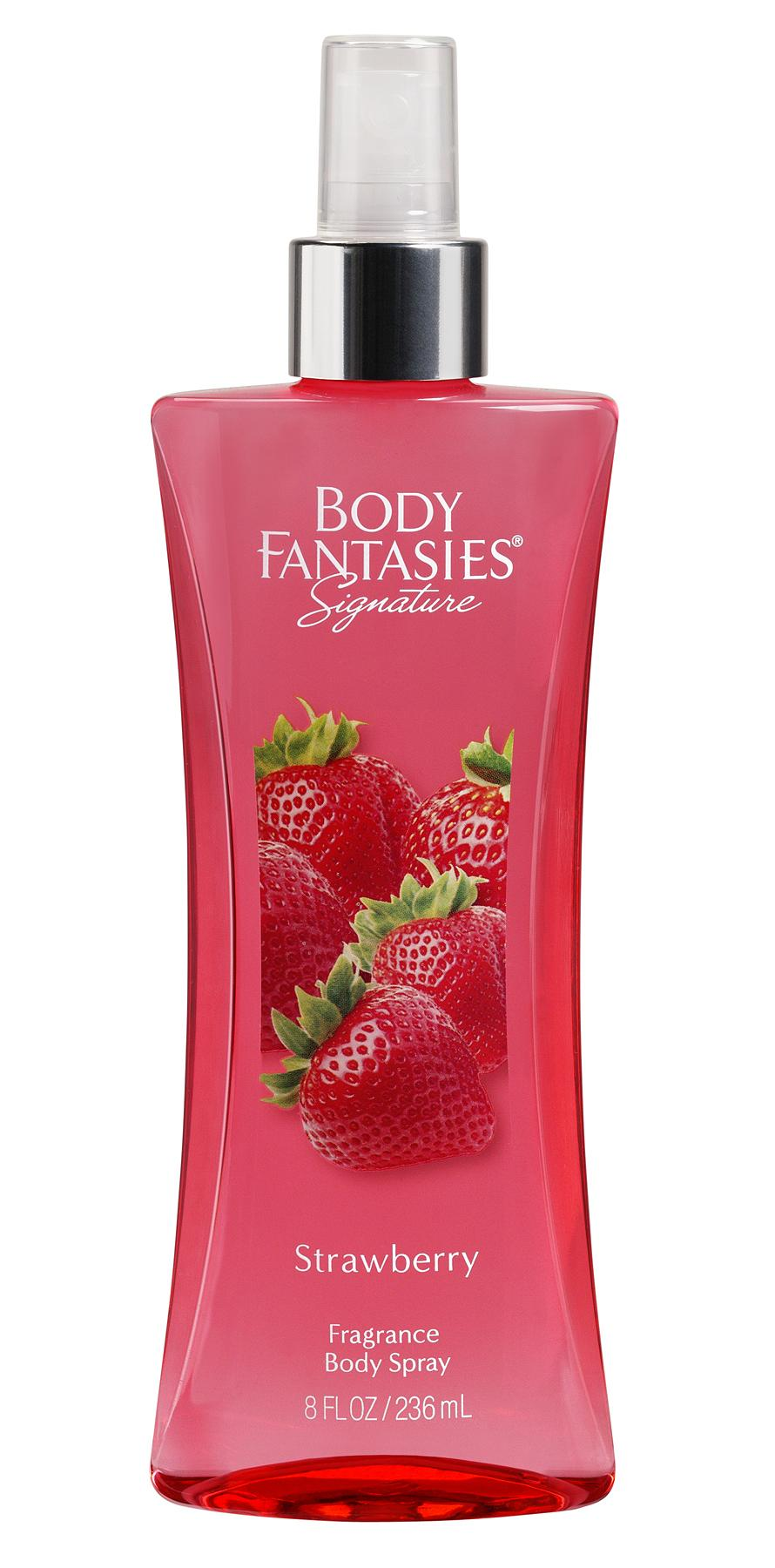 Body Fantasies Signature Strawberry Body Spray 236ml