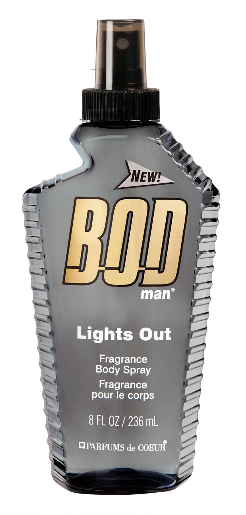 Bodman Lights Out Body Spray 236ml