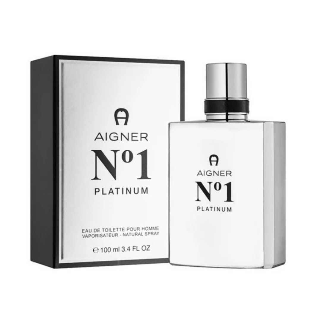 Aigner No1 Platinum Pour Homme Eau De Toilette 100ML