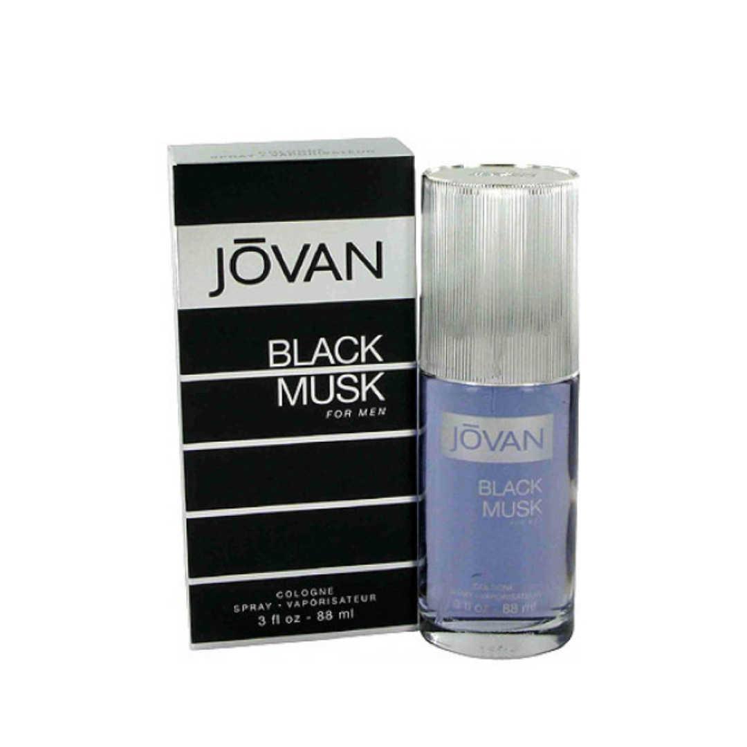 Jovan Black Musk For Men Eau De Cologne 88ML