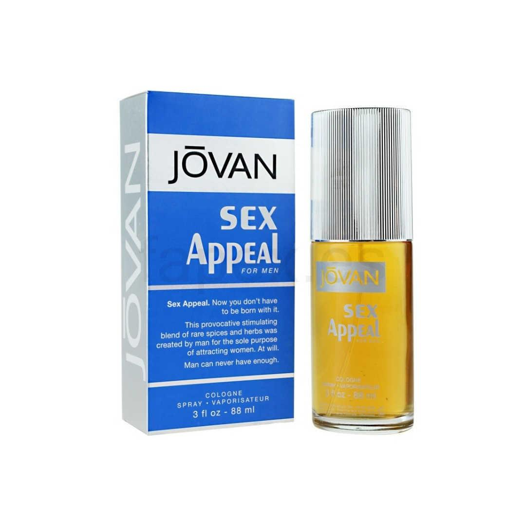 Jovan Sex Appeal For Men Eau De Cologne 88ML
