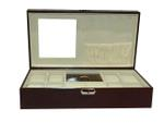 Laveri Genuine Leather Designer New Collection 08 Watch Case And Jewellery Box