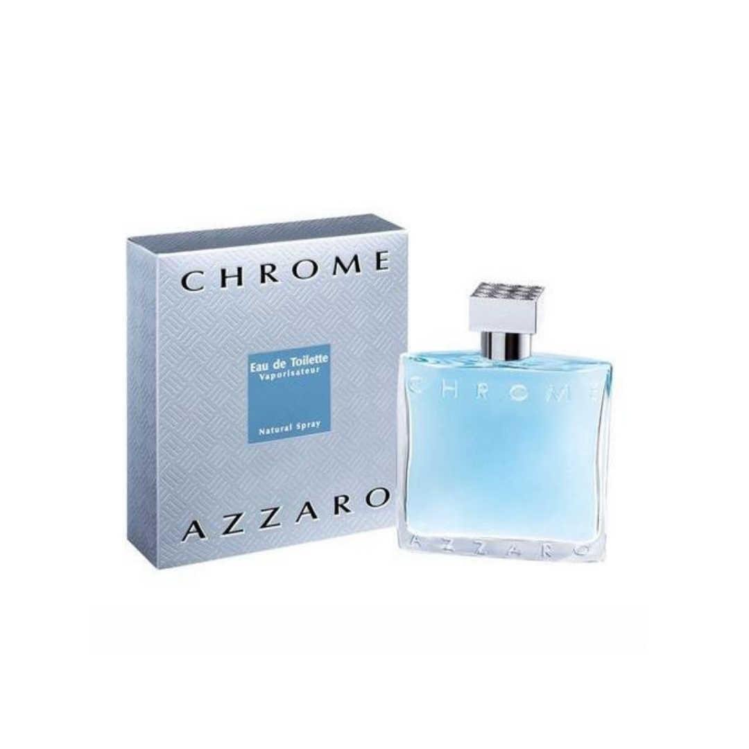 Azzaro Chrome For Men Eau De Toilette