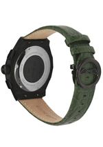 JOVIAL 1505 GBLC96 E Men Fashion Leather Strap Watch, 45mm, Green