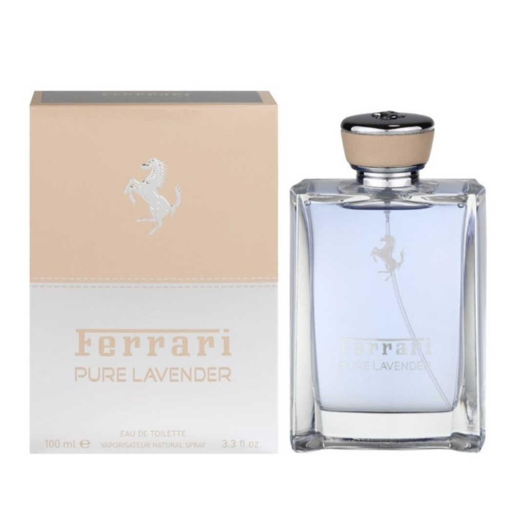 Ferrari Pure Lavender For Unisex Eau De Toilette 100ML