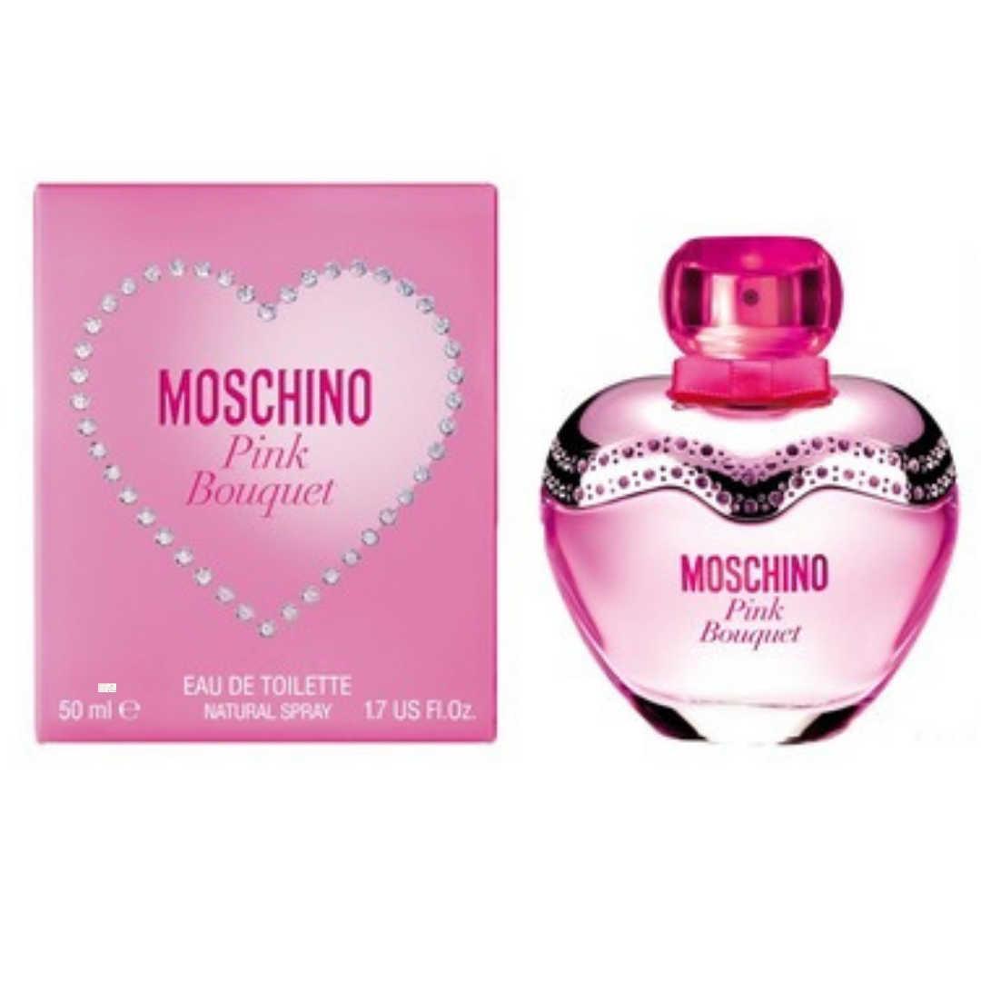 Moschino Pink Bouquet For Women Eau De Toilette 50ML