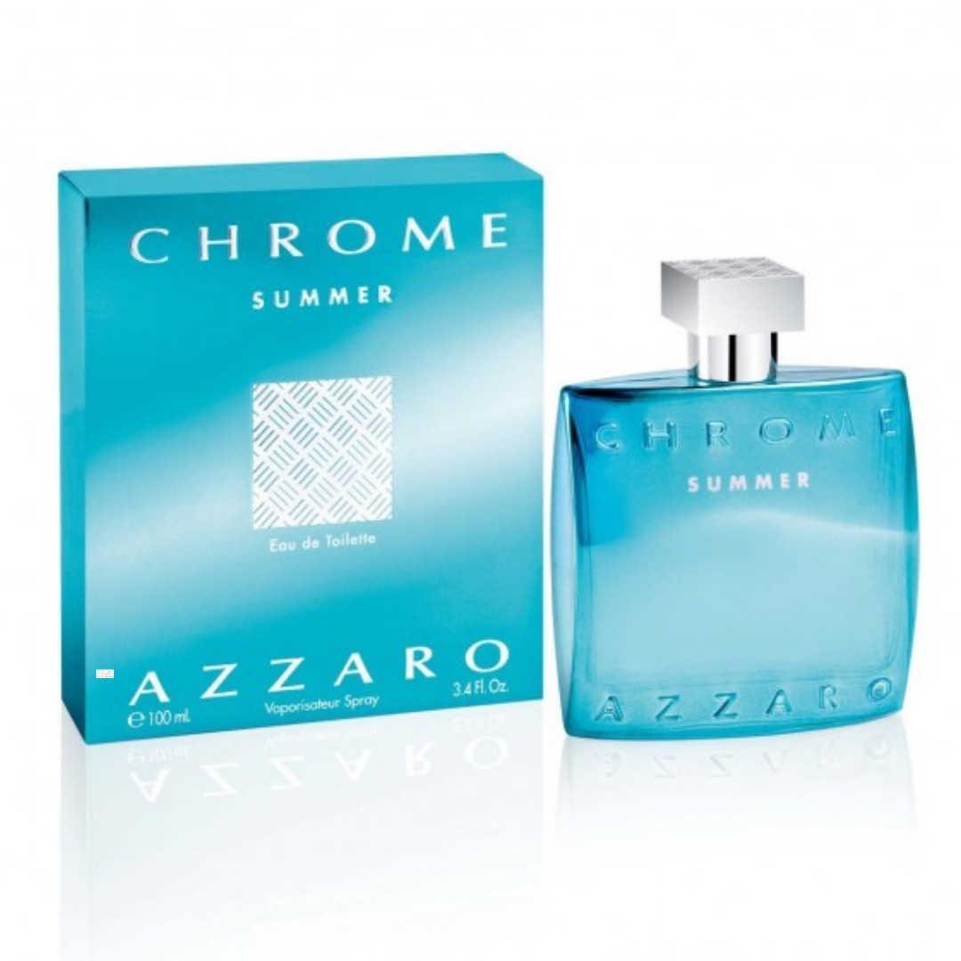 Azzaro Chrome Summer For Men Eau De Toilette