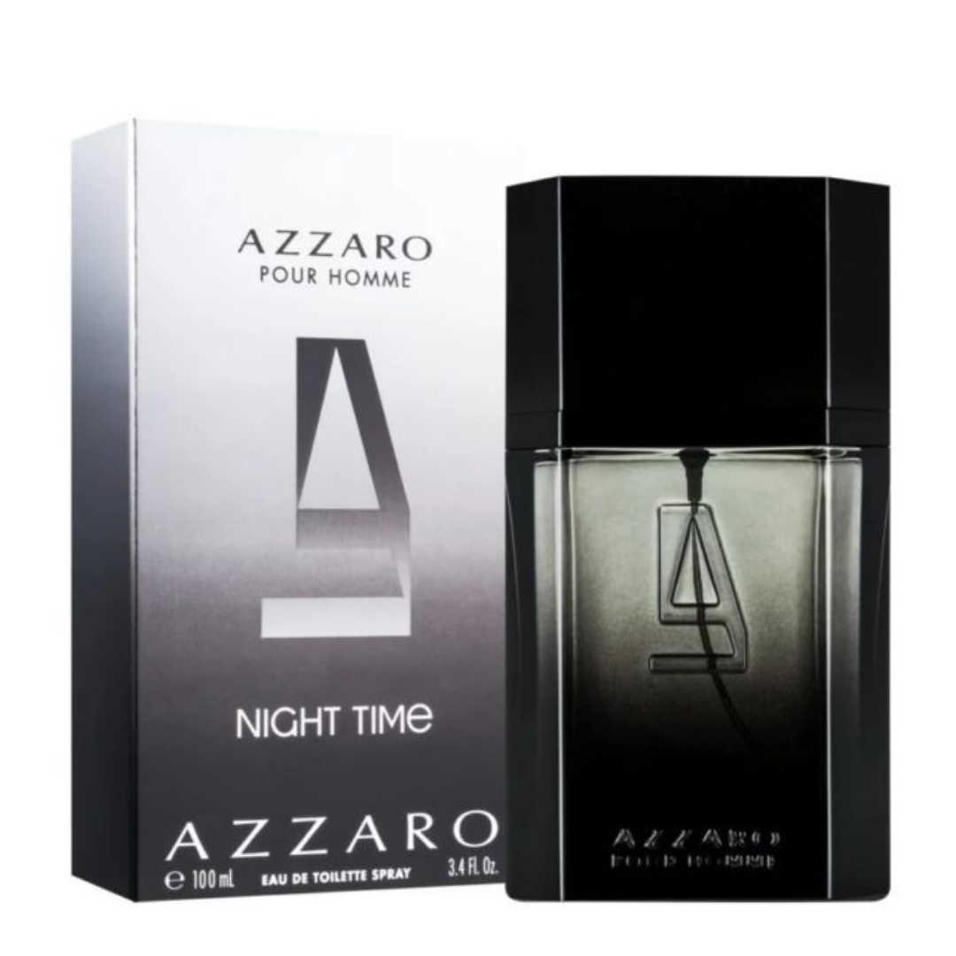 Azzaro Pour Homme Night Time Eau De Toilette