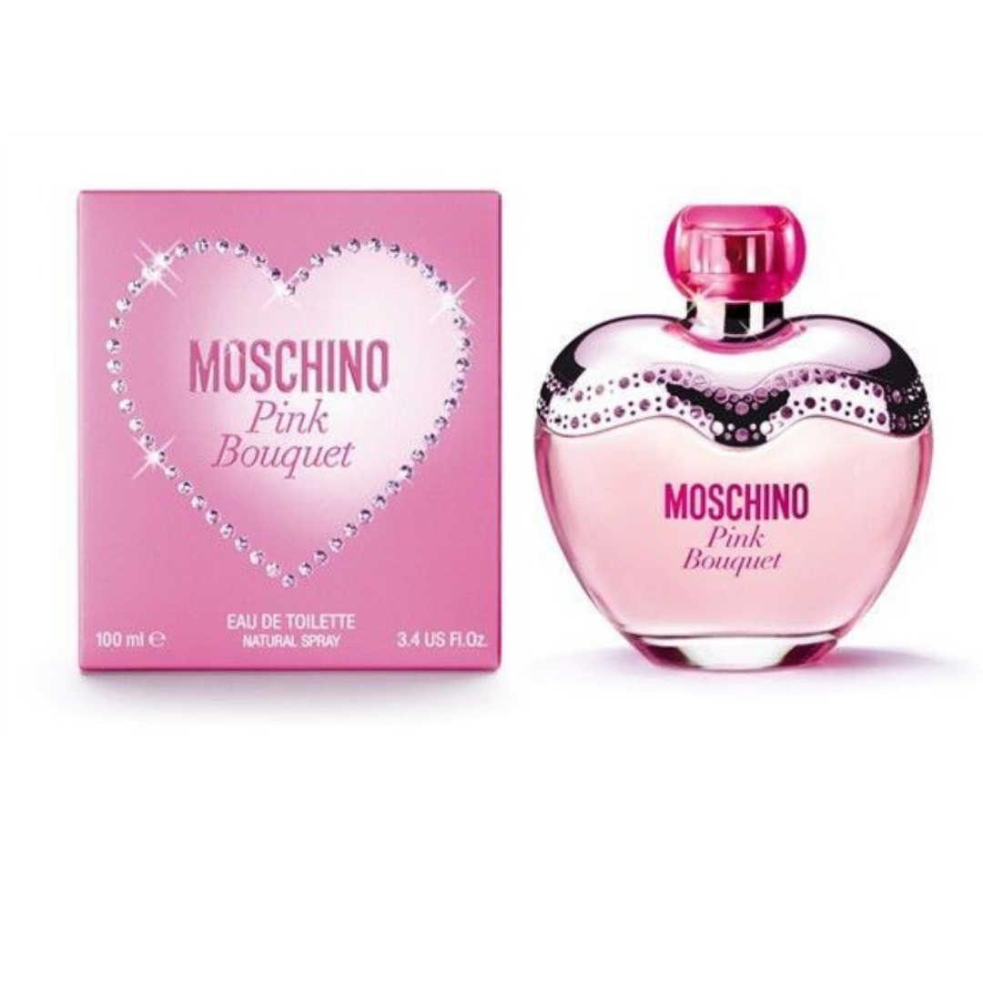 Moschino Pink Bouquet For Women Eau De Toilette 100ML