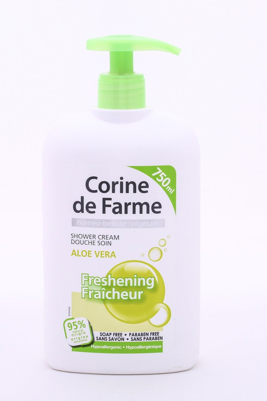 Corine De Farme Shower Cream Aloe Vera 750ml