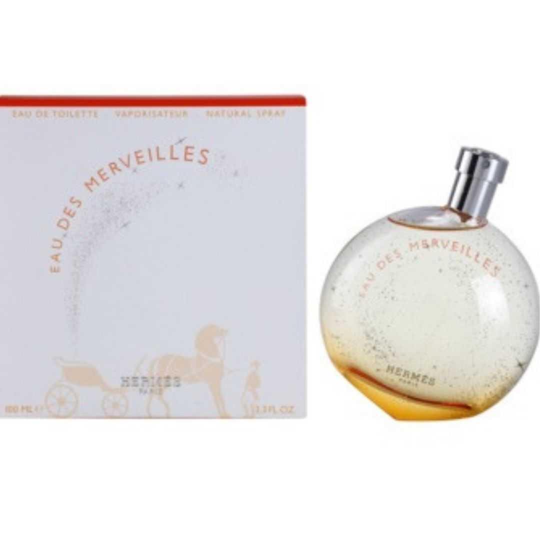 Hermes Eau Des Merveilles For Women Eau De Toilette 100ML