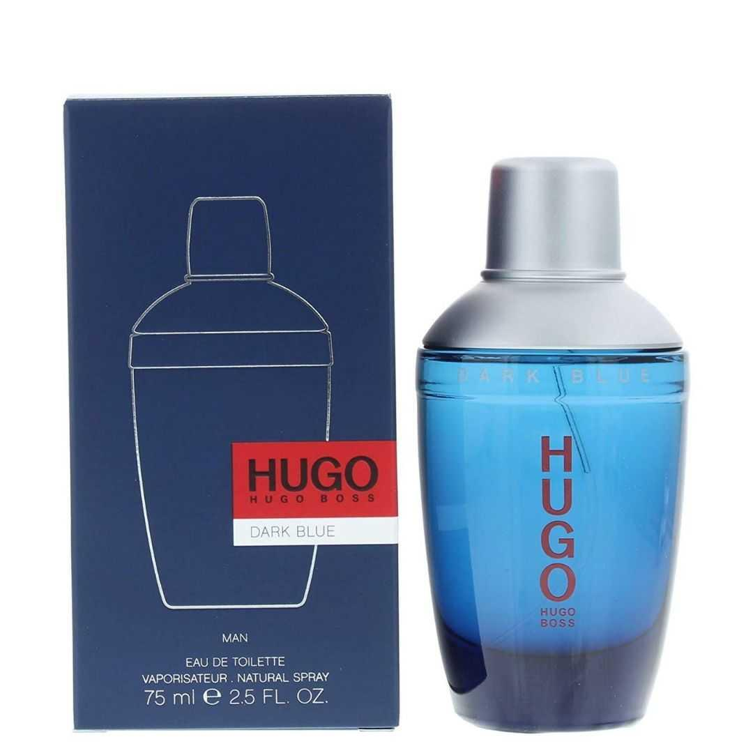 Hugo Boss Dark Blue For Men Eau De Toilette 75ML