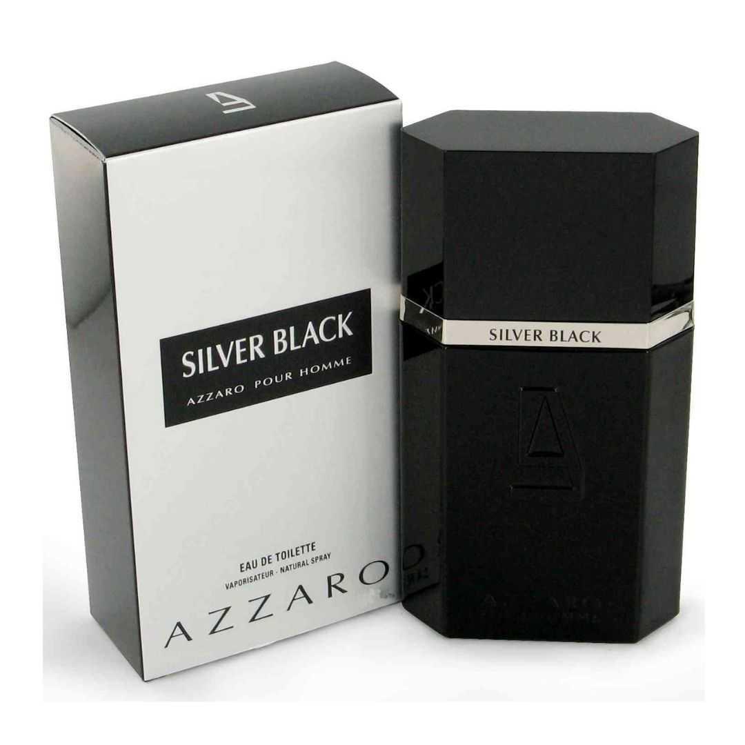 Azzaro Silver Black For Men Eau De Toilette