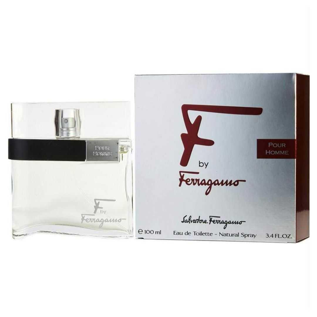 Salvatore Ferragamo F By Pour Homme For Men Eau De Toilette 100ML