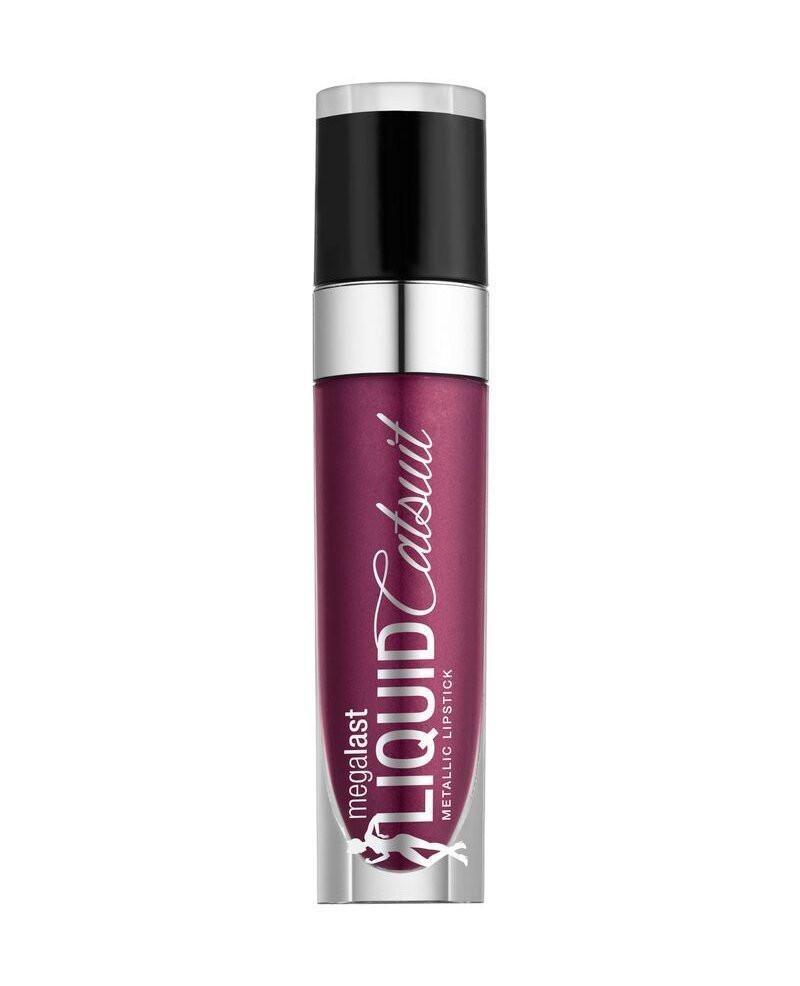 Wet n Wild Mega last Liquid Metallic Lipstick Acai So Serious