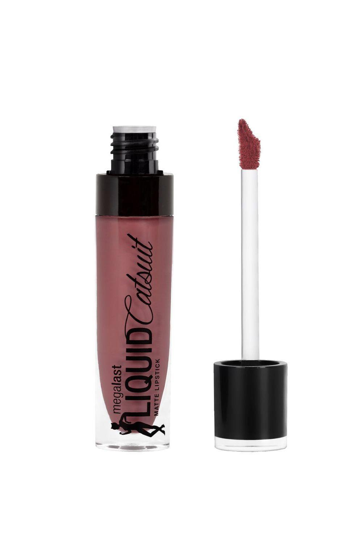 Wet n Wild Mega last Liquid Catsuit Matte Lipstick Rebel Rose