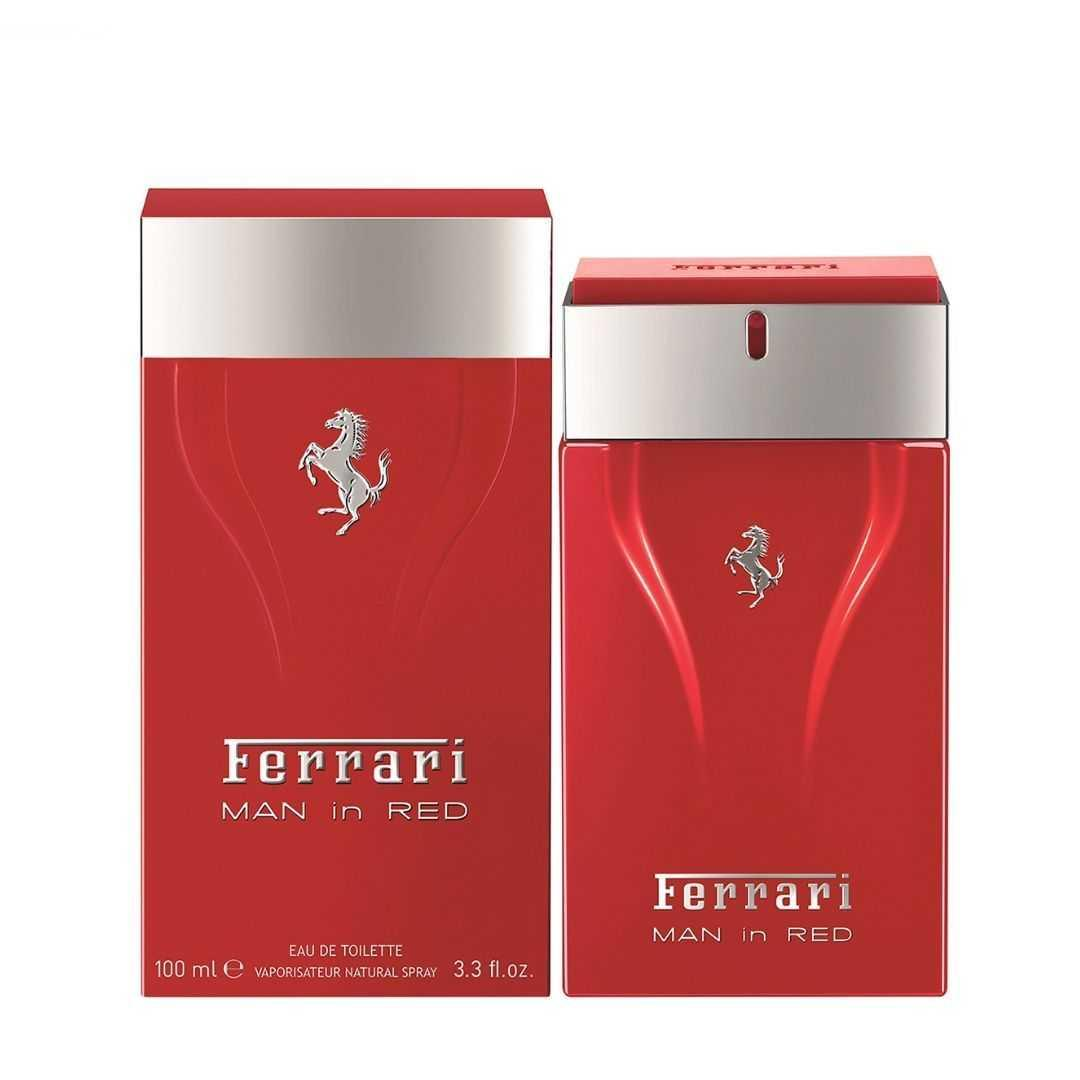 Ferrari Man In Red For Men Eau De Toilette