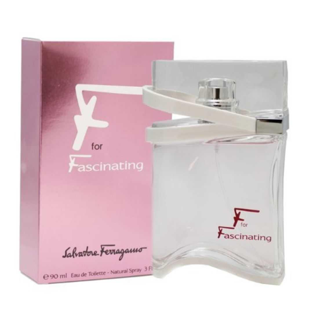 Salvatore Ferragamo F For Fascinating For Women Eau De Toilette 90ML