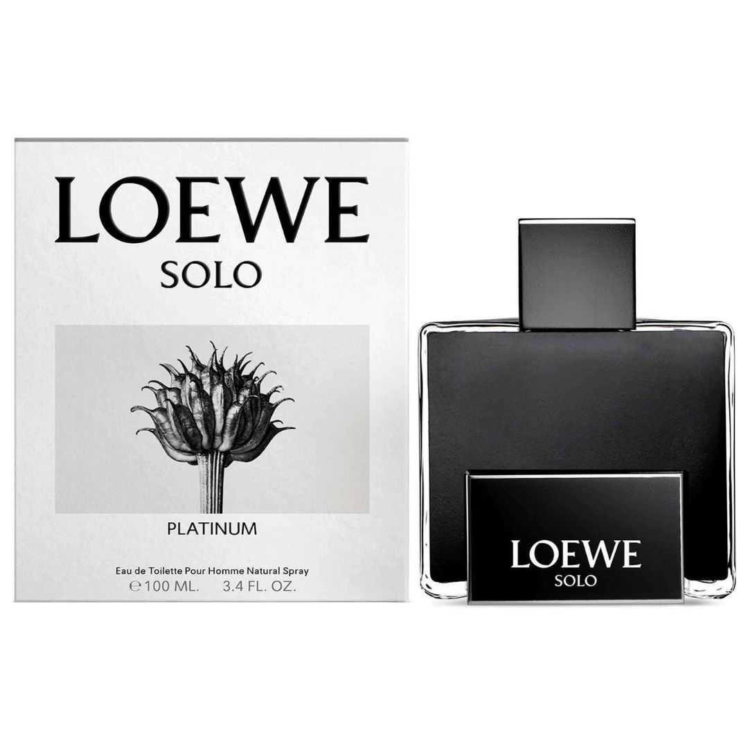 Loewe Solo Platinum For Men Eau De Toilette 100ML