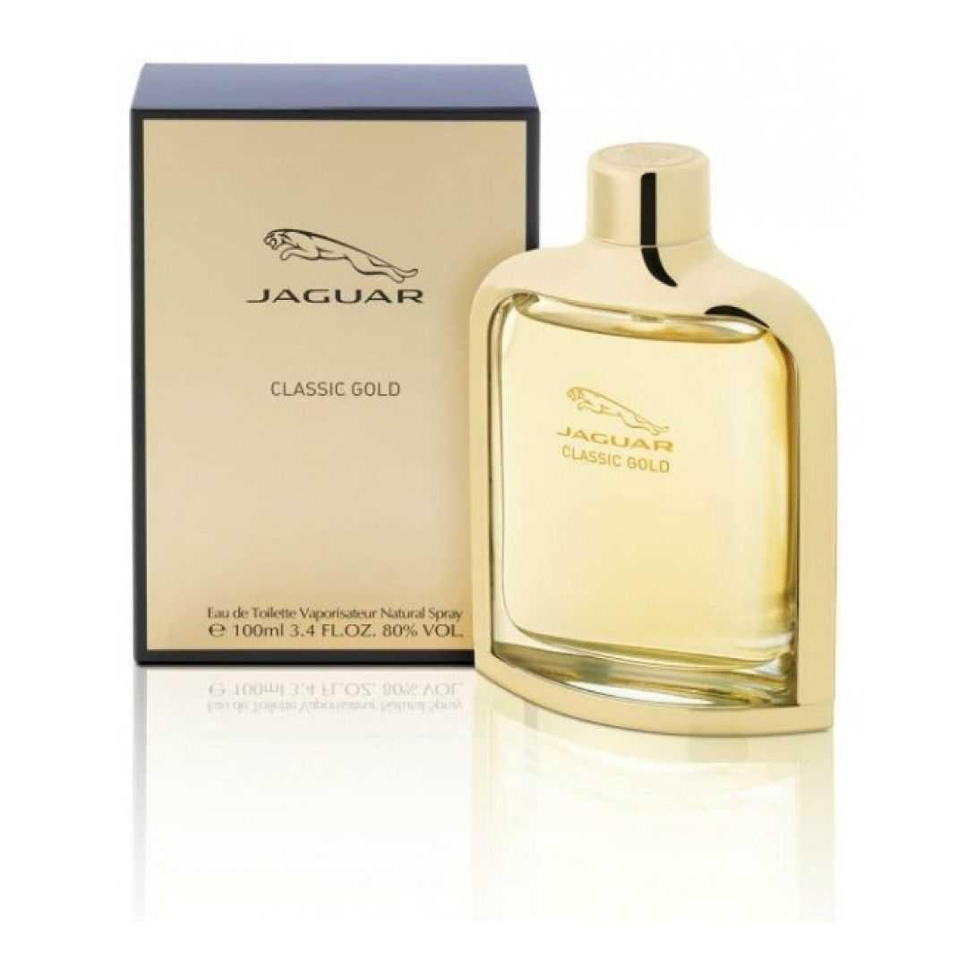 Jaguar Classic Gold For Men Eau De Toilette 100ML