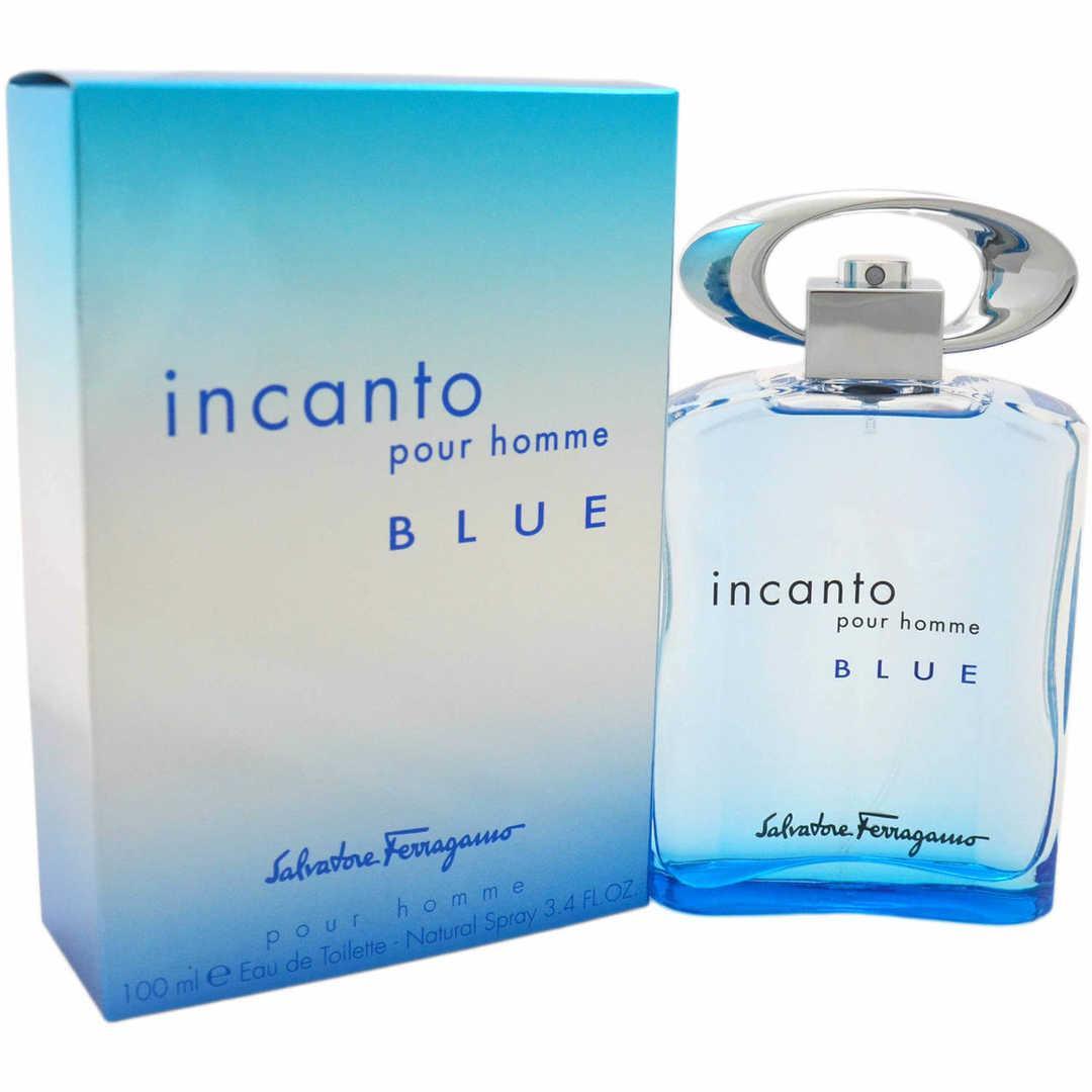 S Ferragamo Incanto Blue For Men Eau De Toilette 100ML