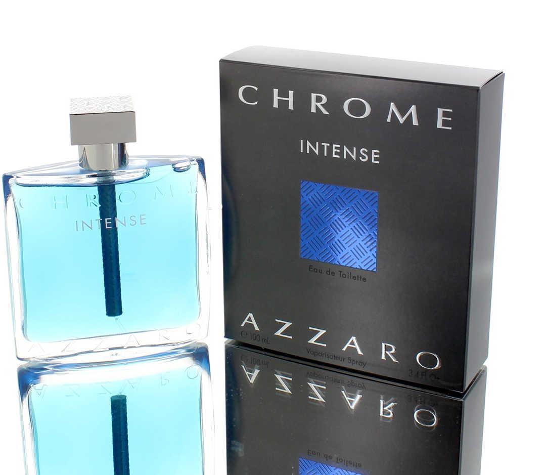 Azzaro Chrome Intense For Men Eau De Toilette 100ML