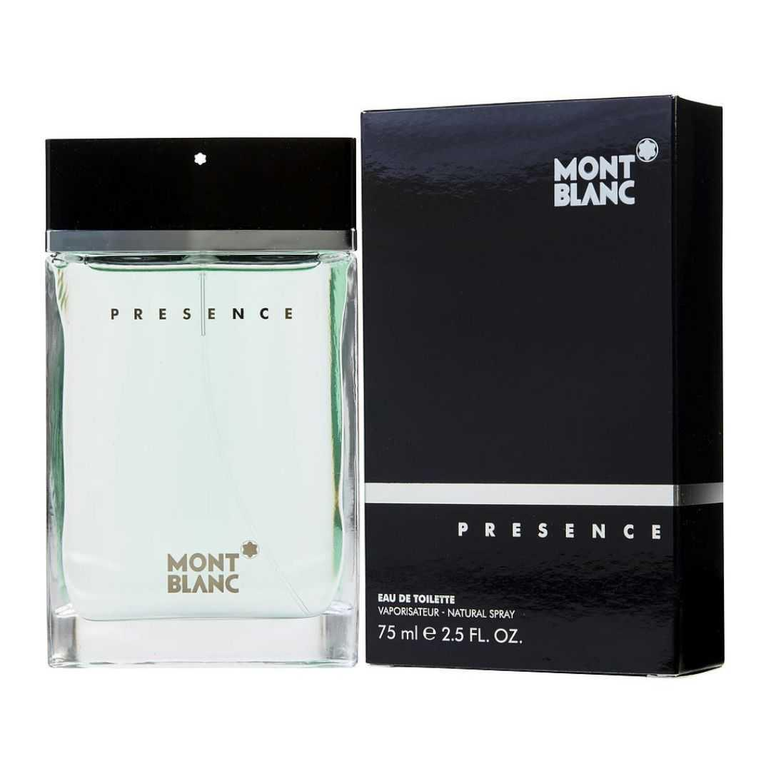 Mont Blanc Presence For Men Eau De Toilette 75ML