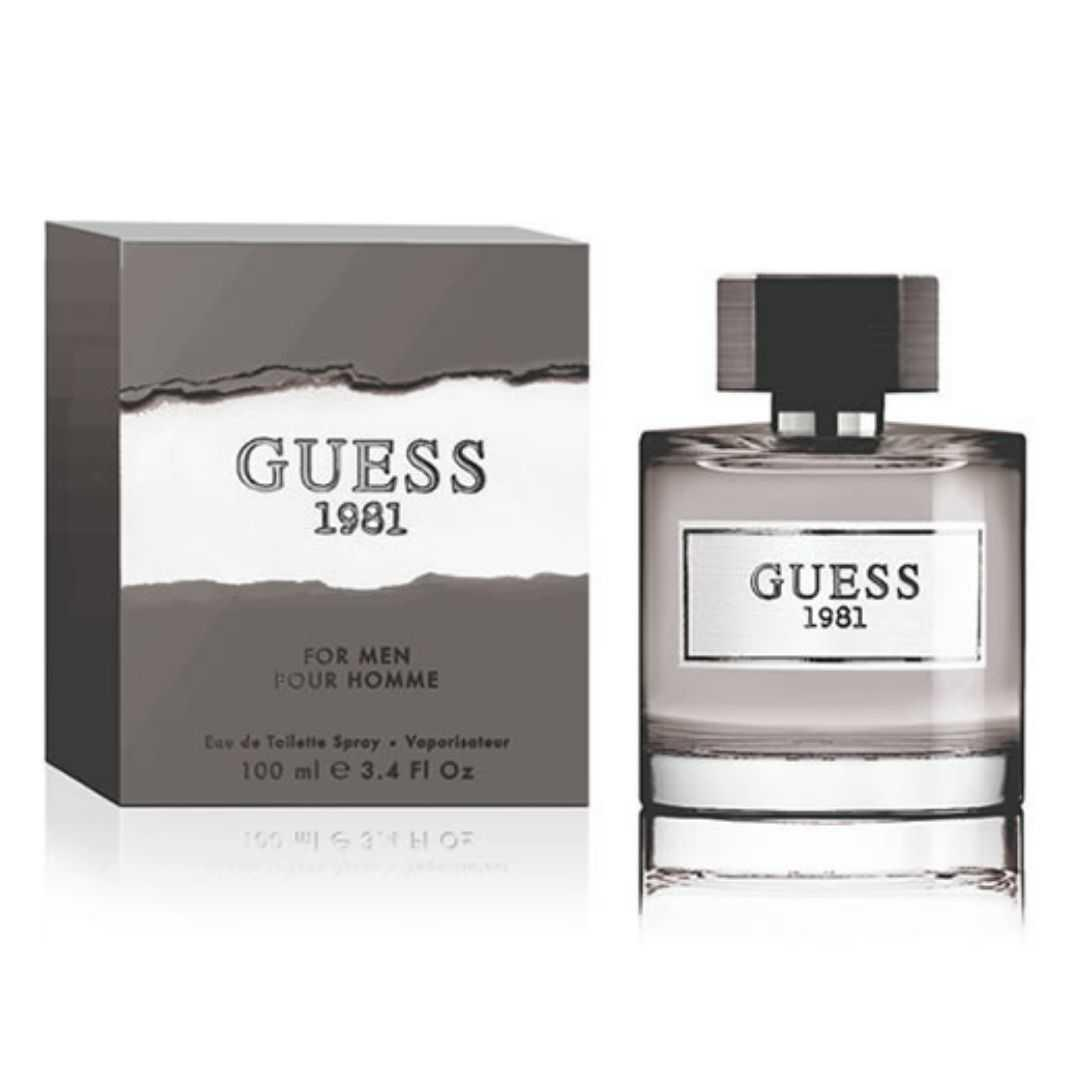 Guess 1981 Pour Homme For Men Eau De Toilette 100ML