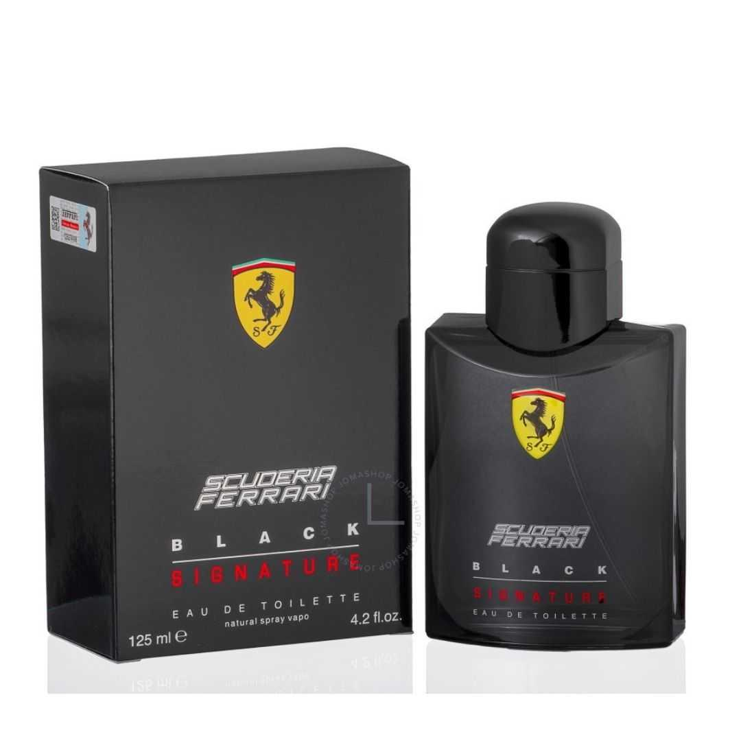 Ferrari Scuderia Signature Black For Men Eau De Toilette