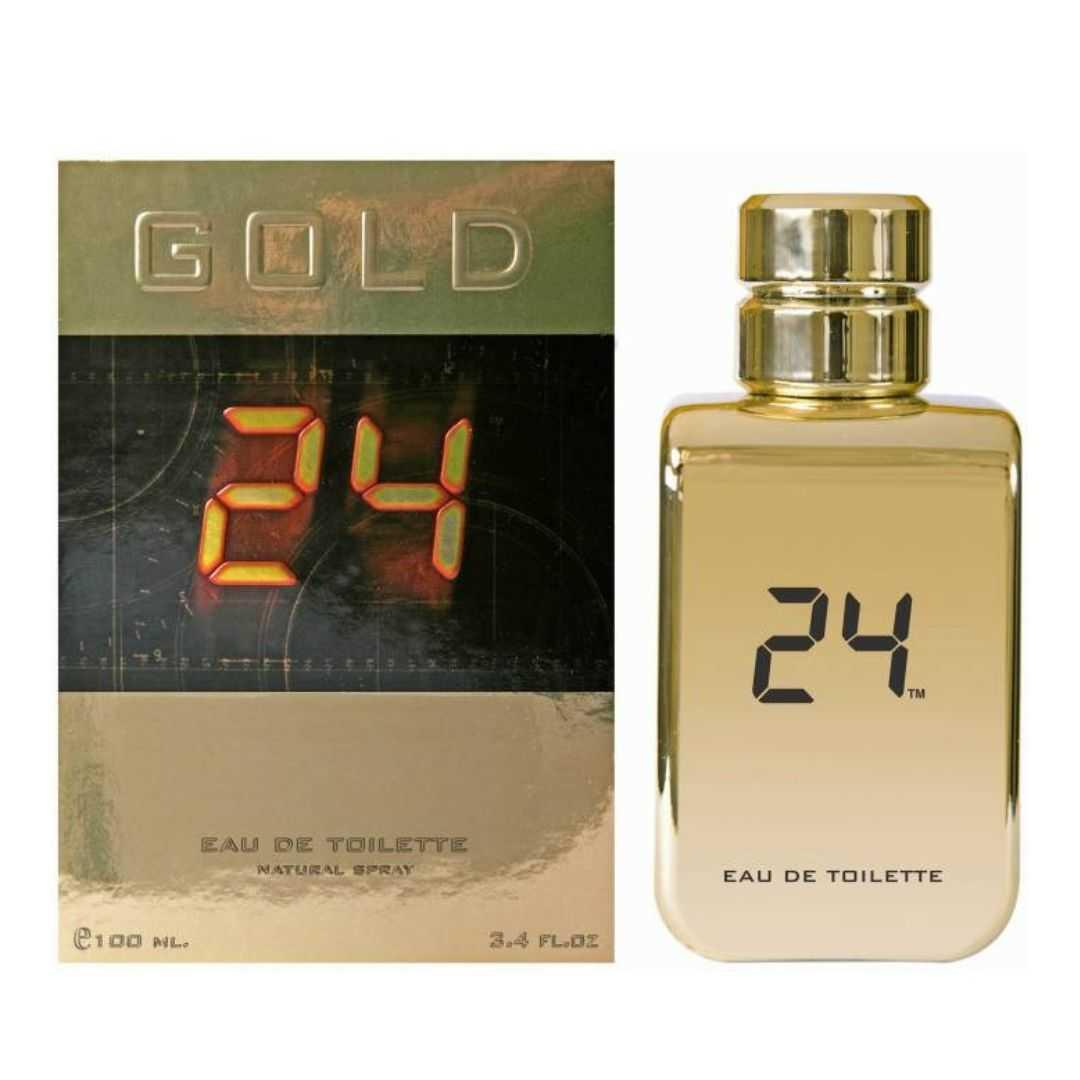 24 Gold For Unisex Eau De Toilette 100ML