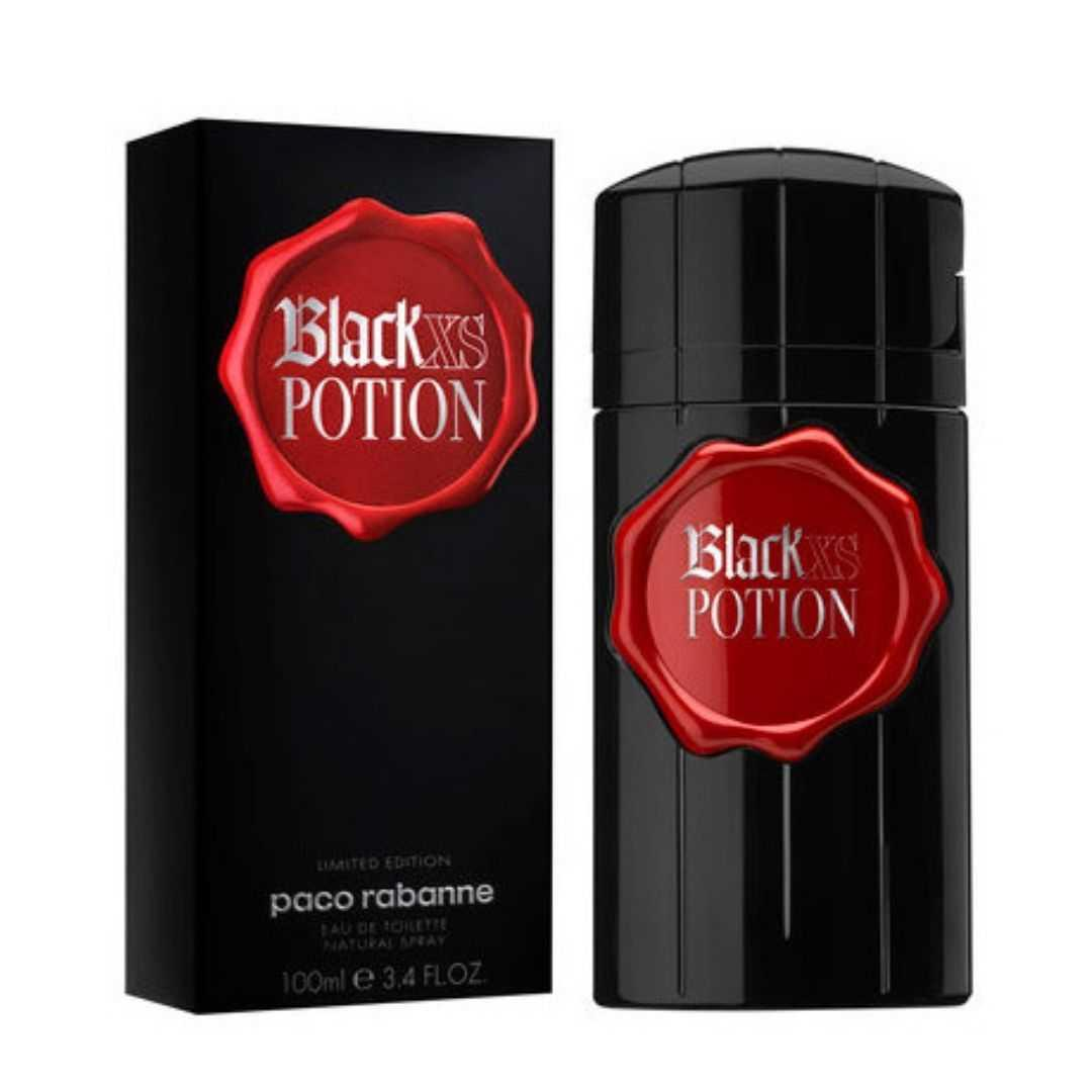 Paco Rabanne Black Xs Potion Limited Edition For Men Eau De Toilette 100ML
