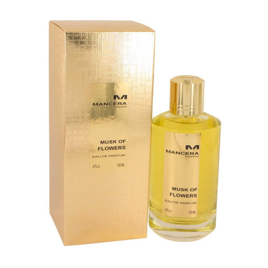 Mancera Musk of Flowers For Unisex Eau De Parfum 120ML