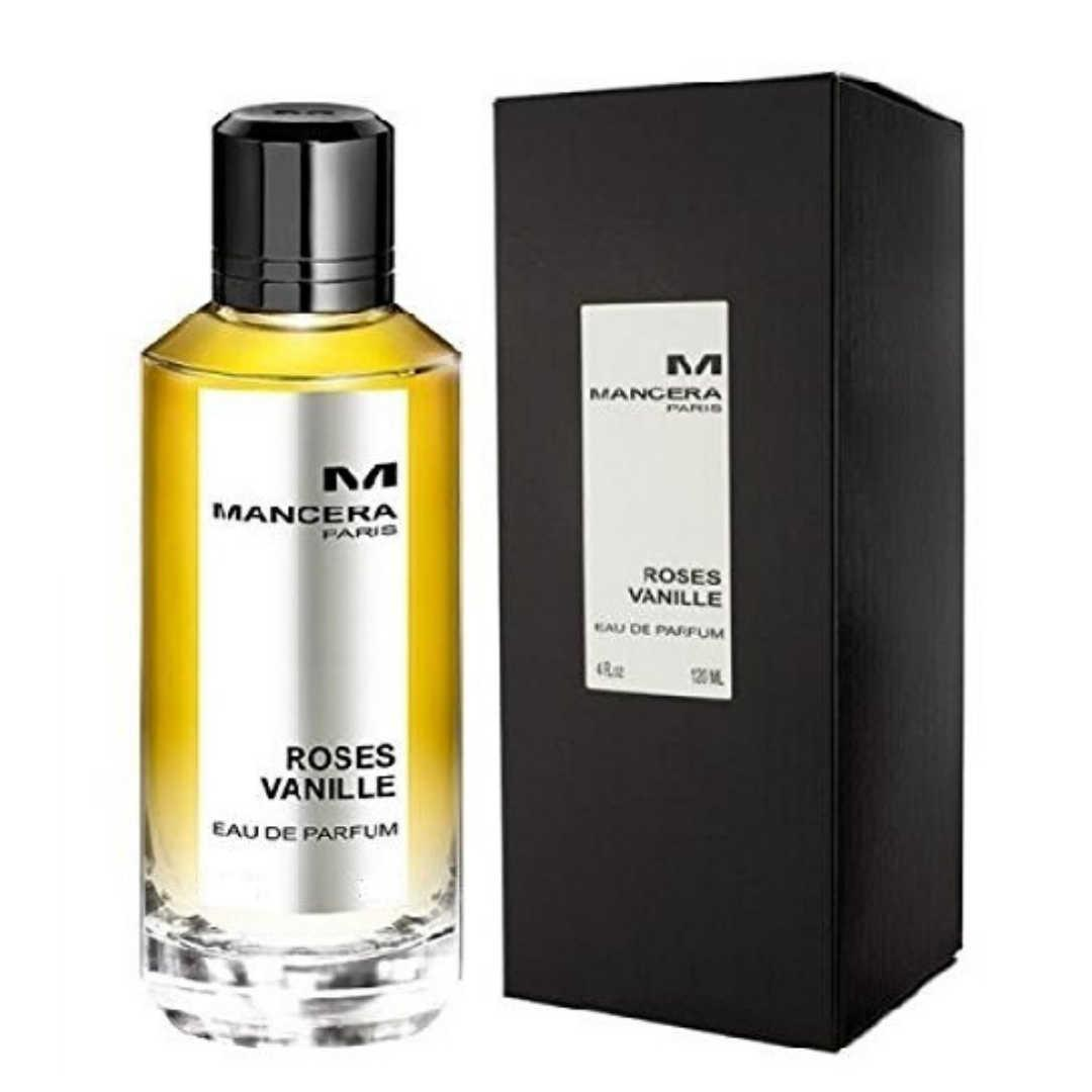 Mancera Roses Vanille For Unisex Eau De Parfum 120ML