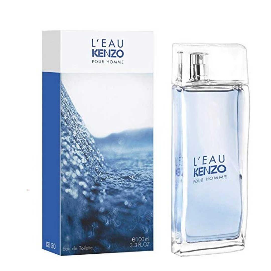 Kenzo L`Eau Kenzo Pour Homme For Men Eau De Toilette 100ML