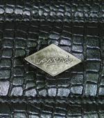 Laveri Genuine Leather Bracelet Jewelry Box with 1 Removable Rolls BLACK