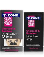 T-Zone Charcoal & Bamboo Nose Pore 6 Strips